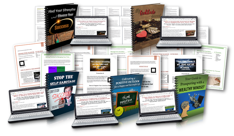 Personal Development eMail Power Pack PLR PLR2Go
